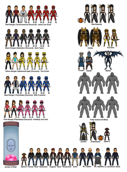 Mighty Morphin Power Rangers - Morphin Time by dudebrah