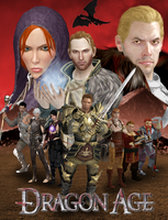Dragon Age Poster by AlistairAndAnders