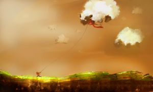 5 Concept Sheep Clouds by KigerClouds