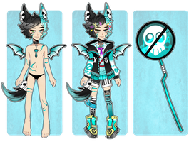 [Adopts]: Harajuku Lockette (CLOSED) by SimplyDefault