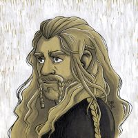 Fili Prince Under the Mountain by nerdeeart