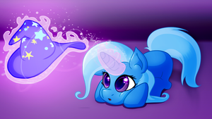 Meet the Hat ( a trixie drawing) by WarpOut