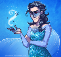 sassy ice queen by pai-draws