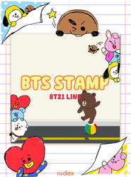 PNG BTS BT21 LINE by ValeriaPaulina