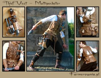 The Thief Vest - Multipocketer by farmerownia