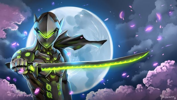 Overwatch : Genji by R-nowong