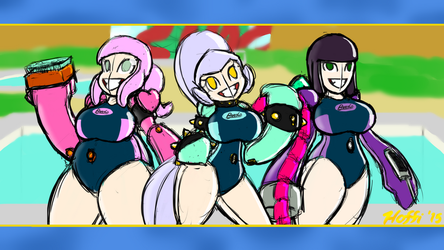 Pool Bouncers Background by PainfulElegy