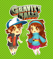 Gravity Falls Cuties by InuGurl107