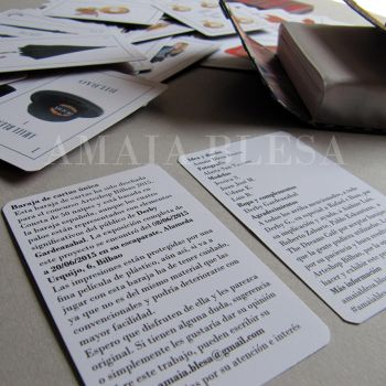 Tailored Elegance deck cards picture by BAKKSAIGA