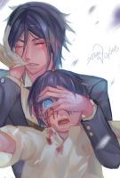 Black Butler- Save me by christon-clivef