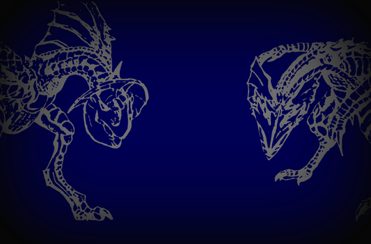 Two Yians - Wallpaper? by ZircontheWyvern