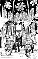 Lady Death: Apocalyptic Abyss by Kromespawn