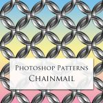 Photoshop Patterns - Chainmail by carlmary