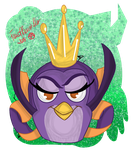 Angry Birds Stella- Gale (tattoo) by RayMcCall-ErronBlack