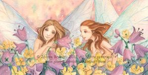 Bell and Buttercup by JoannaBromley