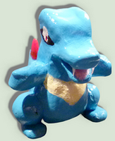 Sculpture of Totodile :)
