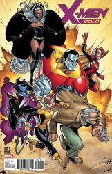 X-Men Gold #1 variant cover by Bloodzilla-Billy