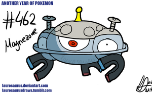 Another year of pokemon: #462 Magnezone