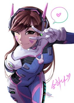 love, d.va by vashperado