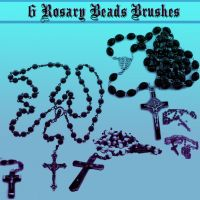 rosary bead brushes by dollieflesh-stock