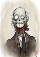 Uncle Wilbur Zombie by thedarkcloak