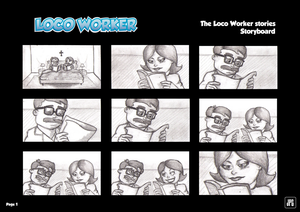 LOCO WORKER Stories Storyboard (Page 1) by JPGArt