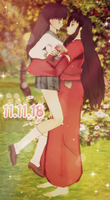 (MMD)  InuYasha - Pocky Day! by Fghostly