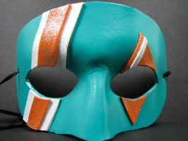 Teal and Orange mask by maskedzone