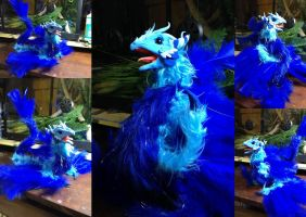 Kiricus - Poseable Water Dragon - SOLD by SonsationalCreations