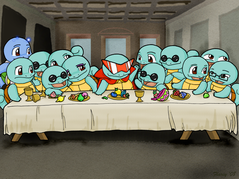 The Last Squirtle by Flarey