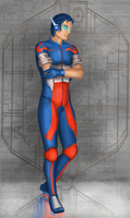 TF: Optimus Prime Human Form by R-Aters