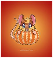 Happy Year of the Rat by KawaiiUniverseStudio