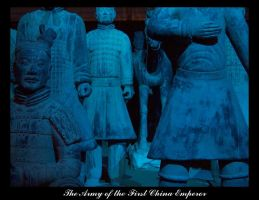 The Army First China Emperor by DIN1031