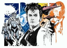 Doctor Who Specials Illo by Ant1975uk