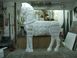 trojan horse by Theatricalarts