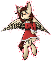 Christmas Angel by AnimeAngel120