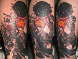 bleach tattoo by evldemon