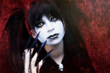 Quick Oldschool Visual Kei Makeup 2 by Necrosarium