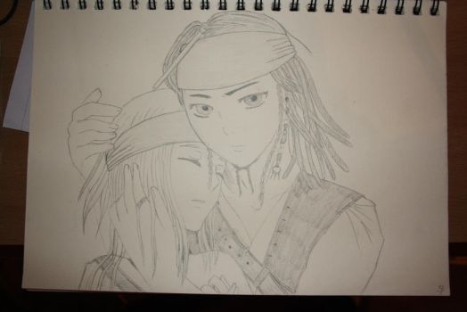 Jack Sparrow and me by yvje94