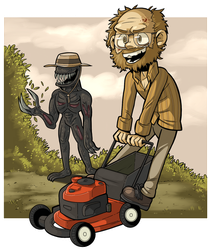 RESIDENT EVIL 7: MY MOWER! by PracticalAl