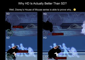 Why HD Is Actually Better Than SD by Jane1