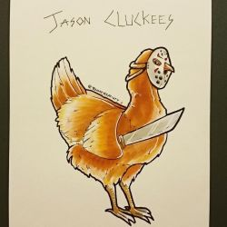 Chickly - Jason chickees by GamingHedgehog