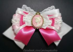 Sailor Moon - Princess Serenity Cameo Bow II by sakkysa