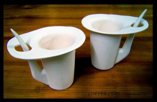 Coffee Cups by edpsiss