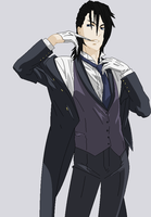 Black Butler OC - Andrew Baines by PartyPoisonsgrrl56