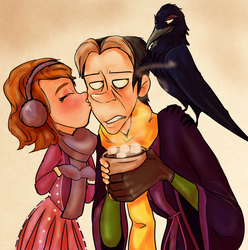 sofia, cedric and wormwood by hiddickington