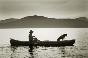 Sailor and his Dog by JGDA9RS