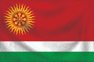 Jesuit Republic of Itapua - National Flag by CyberEagleWarrior
