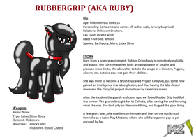 Rubbergrip (Aka Ruby) by metalzaki