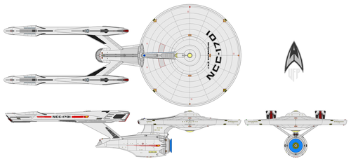 USS Enterprise (T2RW) (KT) by nichodo